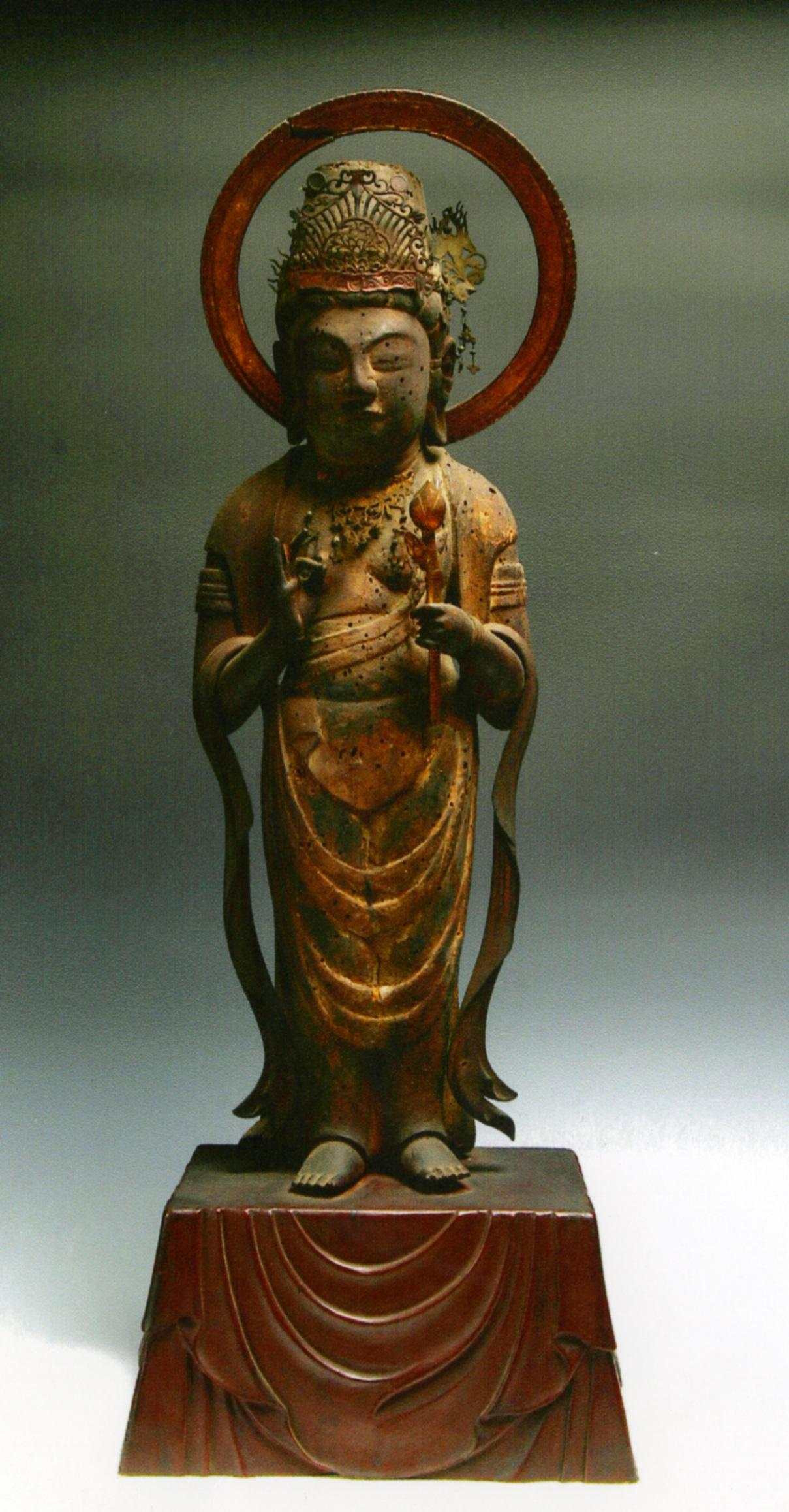 木造観音菩薩立像