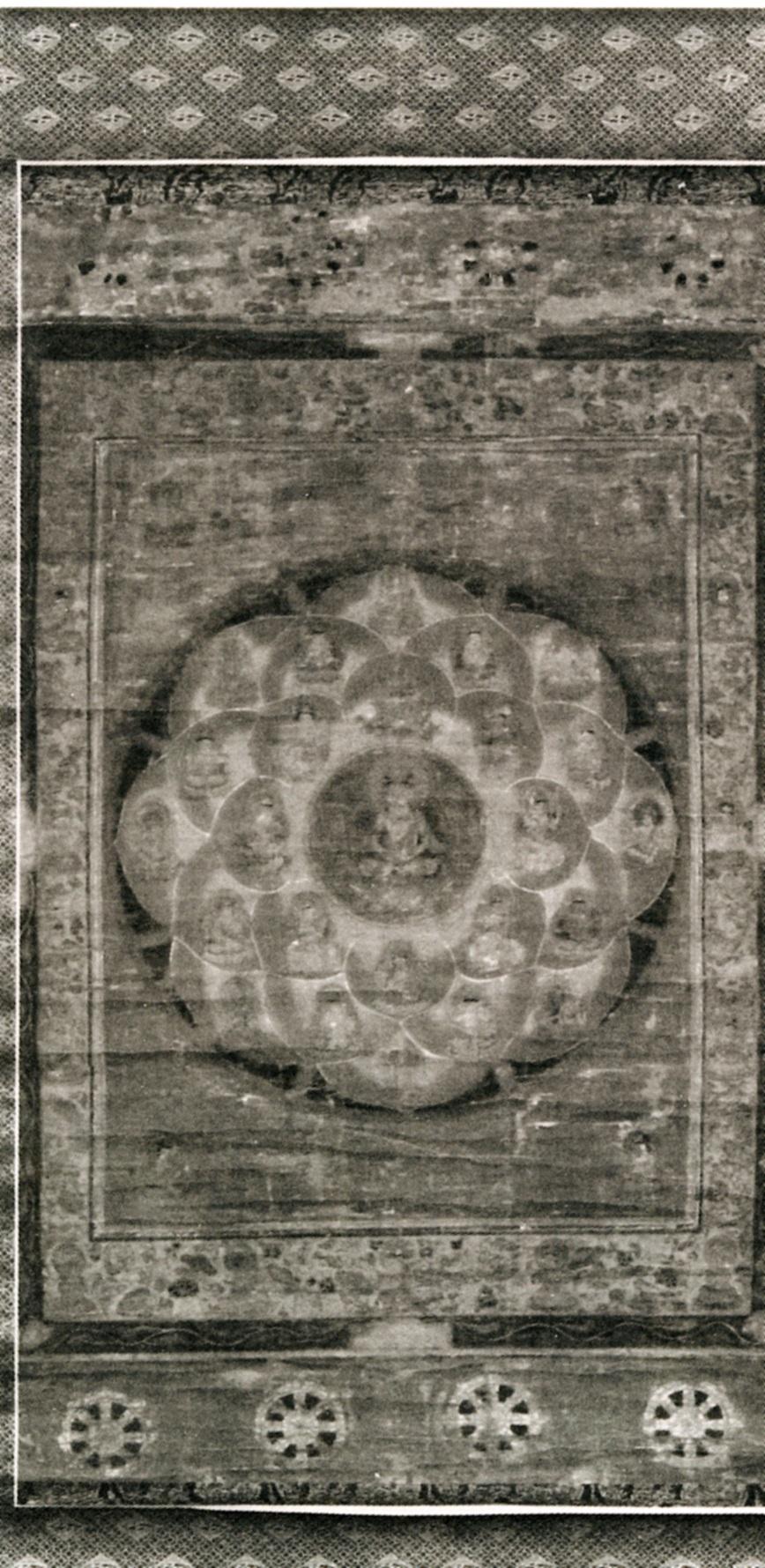 絹本著色仏眼曼荼羅図