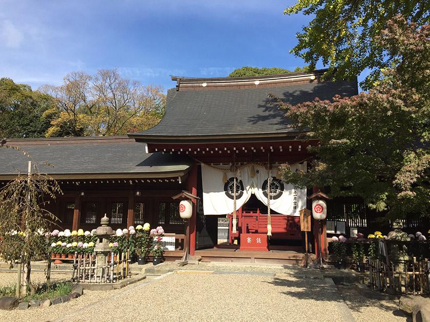 富部神社祭文殿及び廻廊・祭文殿・東廻廊・西廻廊