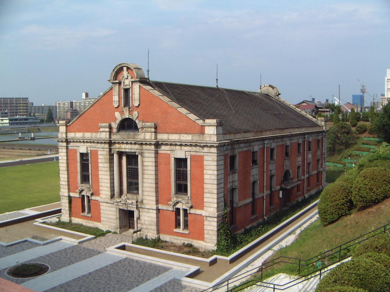 鍋屋上野浄水場旧第一ポンプ所
