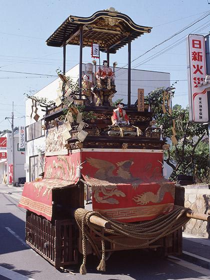 有松祭りの山車行事と布袋車