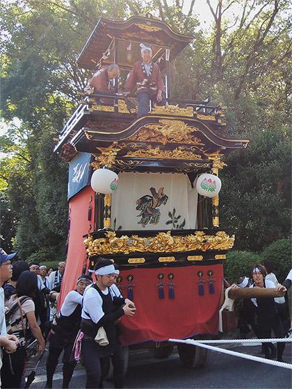鳴海祭(裏方)の山車行事と丹下・北浦・花井・城之下の山車