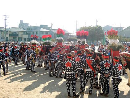 大森郷祭のオマント行事